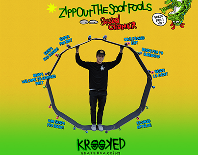 Krooked Skateboards Minisite - Brad's Pro Yo!
