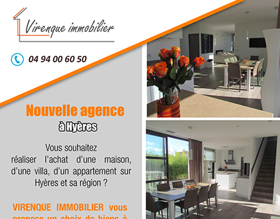 Virenque immobilier - Postal mailing
