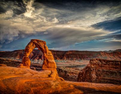 Utah Landscapes I (Color)