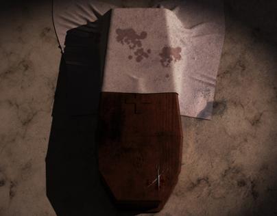 The Premature Burial - 3D Scene