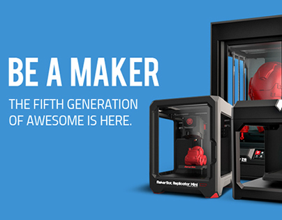 MakerBot Canada Site Launch