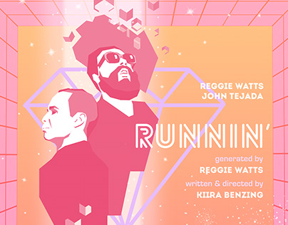 Runnin' (VR Interactive Music Video) Poster