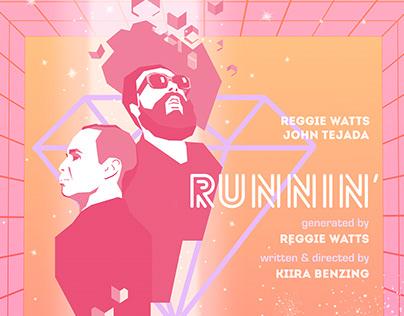 Runnin' (VR Interactive Music Video) Poster