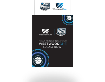 Westwood One's 2014 Final Four Radio Row
