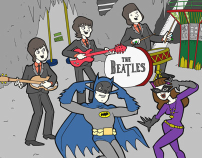 Batman meets The Beatles