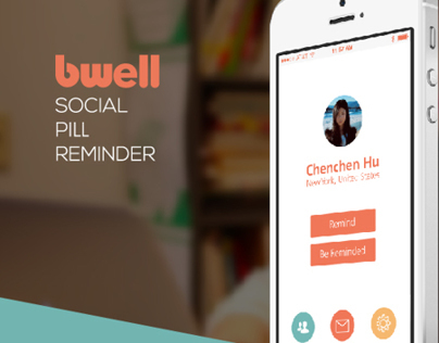 """""""Bwell"""" App Concept"""