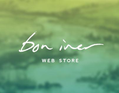 Bon Iver Webstore