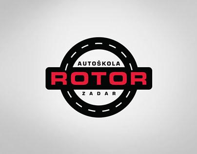 Driving School Rotor - Logo & Branding design