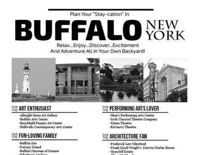 Buffalo Staycation Newspaper Filler