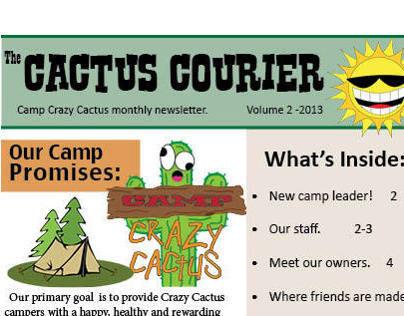 Camp Crazy Cactus Newsletter