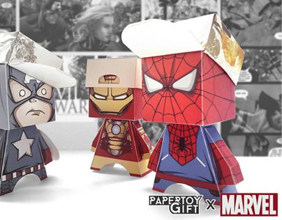 Paper Avengers