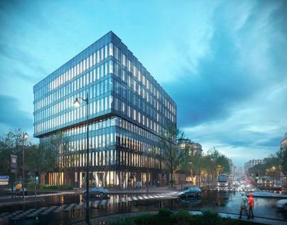 Office building in Paris.