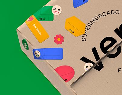"""Si es de """"Vera"""", es de veras - Brand Identity"""