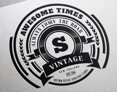 22 Vintage Labels & Badges / Logos / Insignias