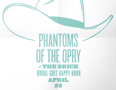 Concert Poster for Phantoms of the Opry