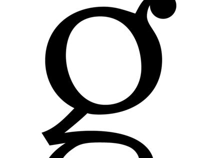 "Glyphs ""G,g,?"""