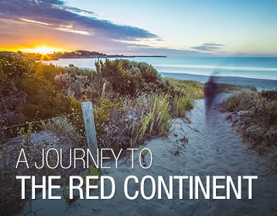A journey to the red continent