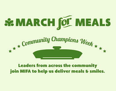 MIFA | March for Meals Campaign