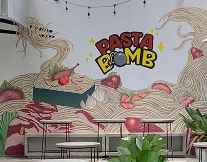 Mural Project: Pasta Bomb Bogor