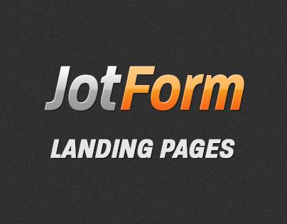 JotForm Landig Pages