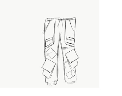Lord of pockets cargo pants