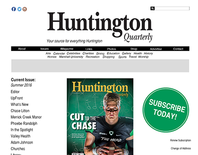 ~WIP~ Huntington Quarterly Website Redesign