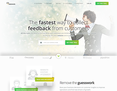 Survicate Get feedback from customers & Survey Tool web