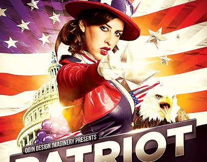 Patriot Party Flyer Template