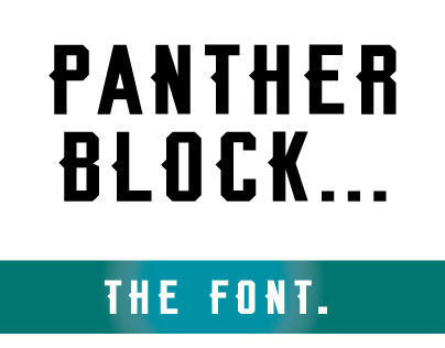 PANTHERS FONT