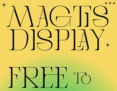 MAGTIS Free Font