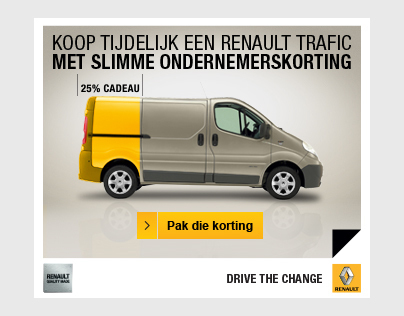 Renault Trafic Banner
