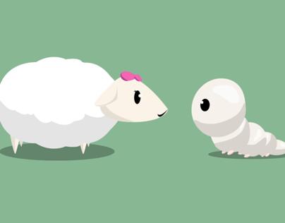 Sheep and Silkworm