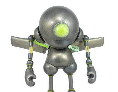 """SloMunny Guardian Custom 7"""" Kidrobot Munny"""
