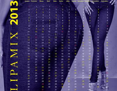 Calendário Lipamix