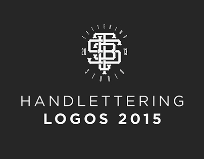 Handlettering logos 2015