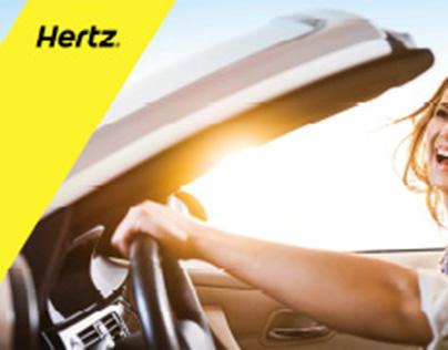 Hertz Marketing / Graphic Design