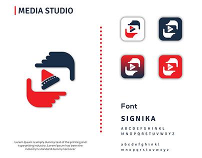 Media Studio - YouTube - Logo Design.