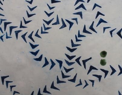 Potato Stamp Textile