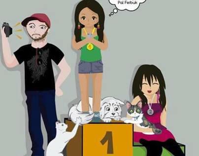 amigos y mascotas