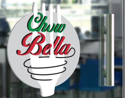 Chow Bella Cafe & Grocer Branding