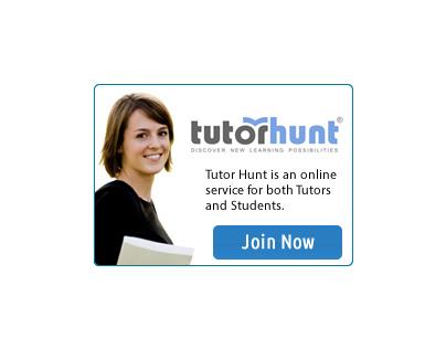 Tutor Hunt Ad Banner