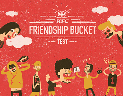 KFC - FRIENDSHIP BUCKET TEST