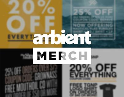 Ambient Merch