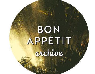 Bon Appetit Archive Logo Design