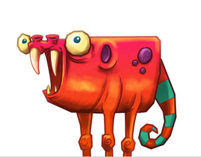 Funky Fiesta game – slot machine character design