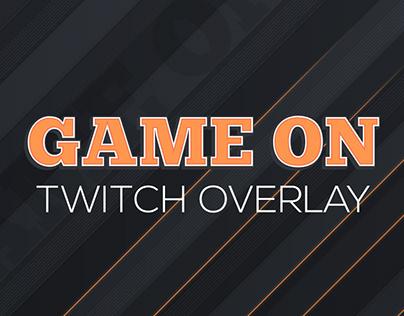 GameOn Twitch Ovleray