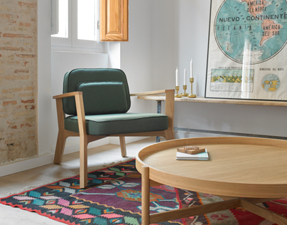 Breda table and seat