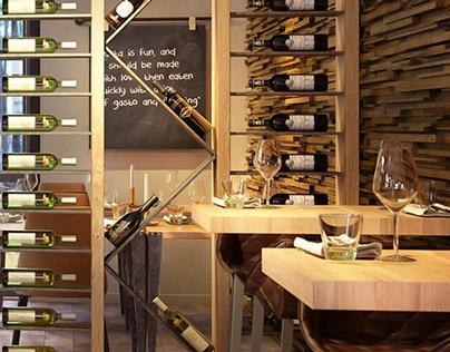 3D Interior | Lodge Restaurant