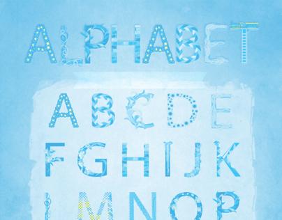 Alphabet Chart - Drop Caps