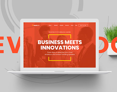 Eventador - Premium Event, Conference & Meeting Landing